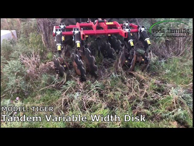 Tandem Variable Width Disk TIGER 7