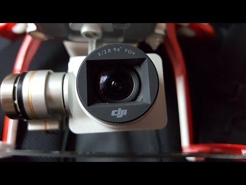 How to replace DJI Phantom 3 Standard (P3S) camera lens.