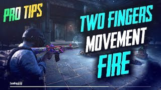 HOW TO DO MOVEMENT FIRE USING TWO THUMBS ONLY | PUBG MOBILE