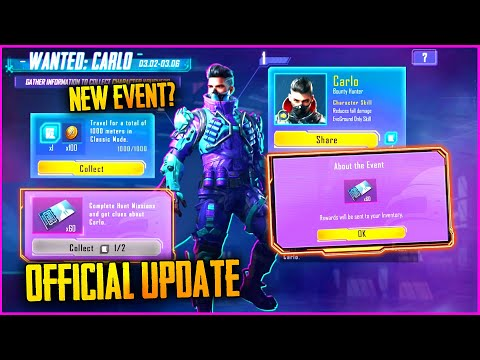 WHEN CARLO VOUCHERS EVENT COMING (OFFICIAL NEWS) - PUBG MOBILE