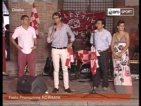 Icaro Sport. La festa-promozione del l'AC Rimini 1912
