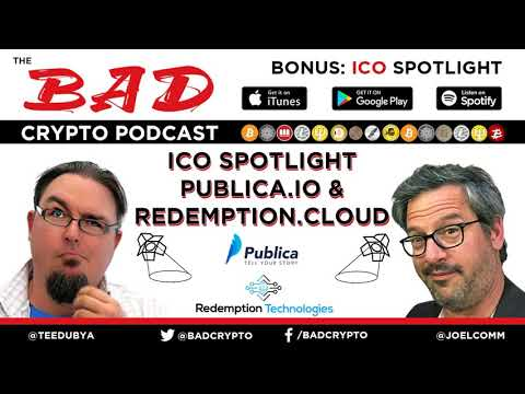 ICO Spotlight - Publica.io & Redemption.cloud