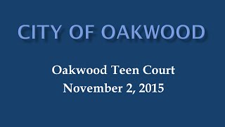 Oakwood Teen Court