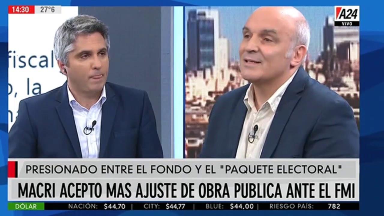 """Image result for Argentina: José Luis Espert en """"Maxi mediodía"""""""