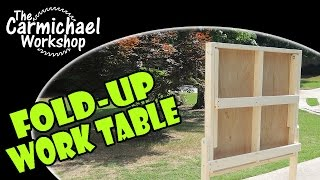 Fold-up Work Table
