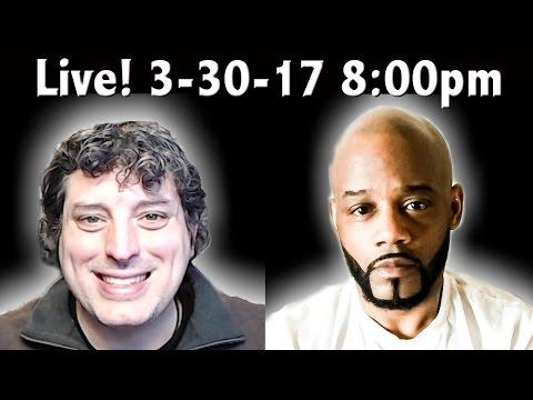🔴 LIVE: Mandela Effect Roundtable - Vegan Warrior - Weird Happens in my House-  3-30-17 8:00pm EST