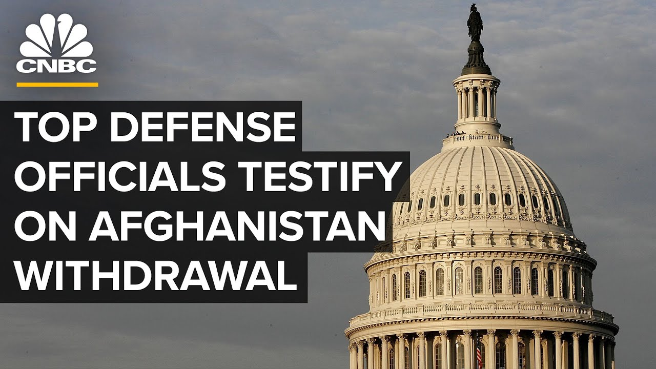 Download Top defense officials testify before Congress on Afghanistan withdrawal — 9/28/21