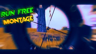 Run Free - Deep Chills | Sniper Montage | 5 Fingers Claw+Full Gyro | Pubg Mobile
