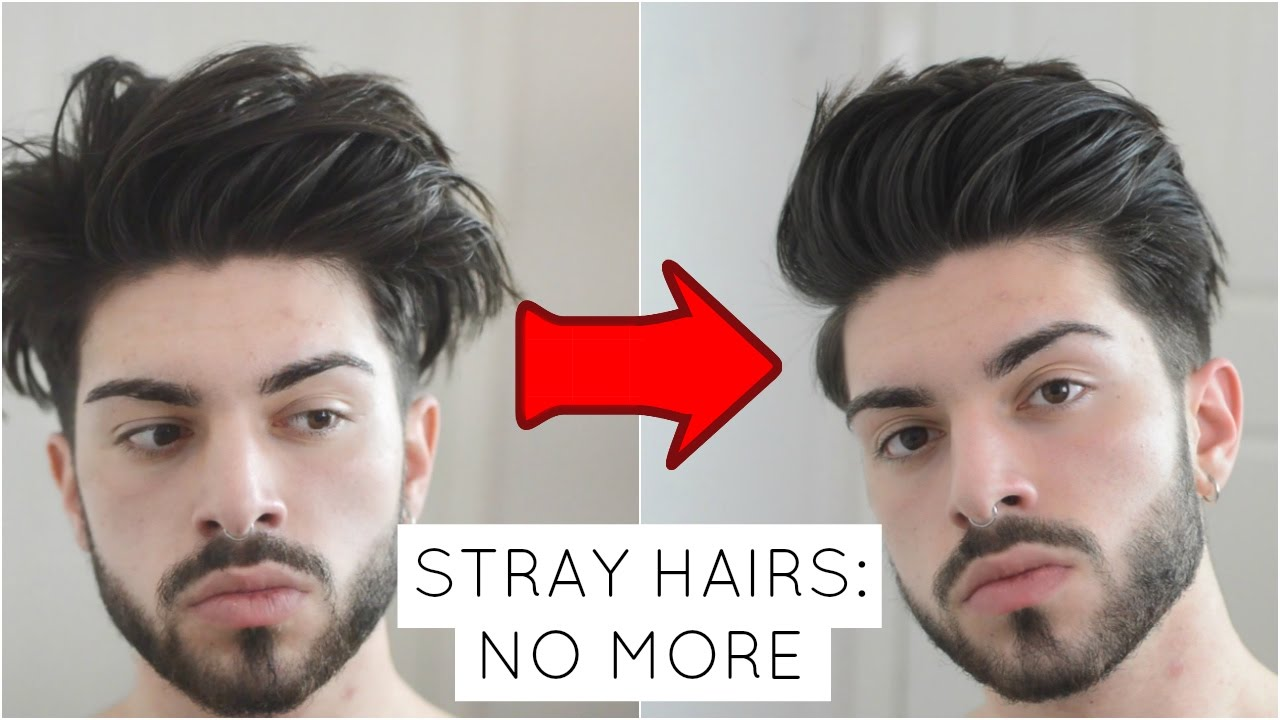Stray Hairs And Cowlicks 5 Easy Steps To Deal With Them Youtube