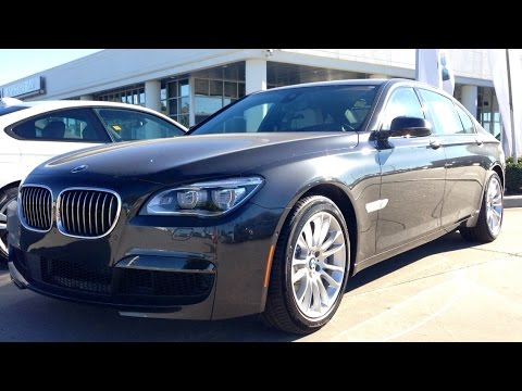 2015 Bmw 750li >> 2015 Bmw 750li M Sport Sedan Full Review Start Up Exhaust Youtube