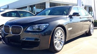 2015 BMW 750Li M Sport Sedan Full Review, Start Up, Exhaust