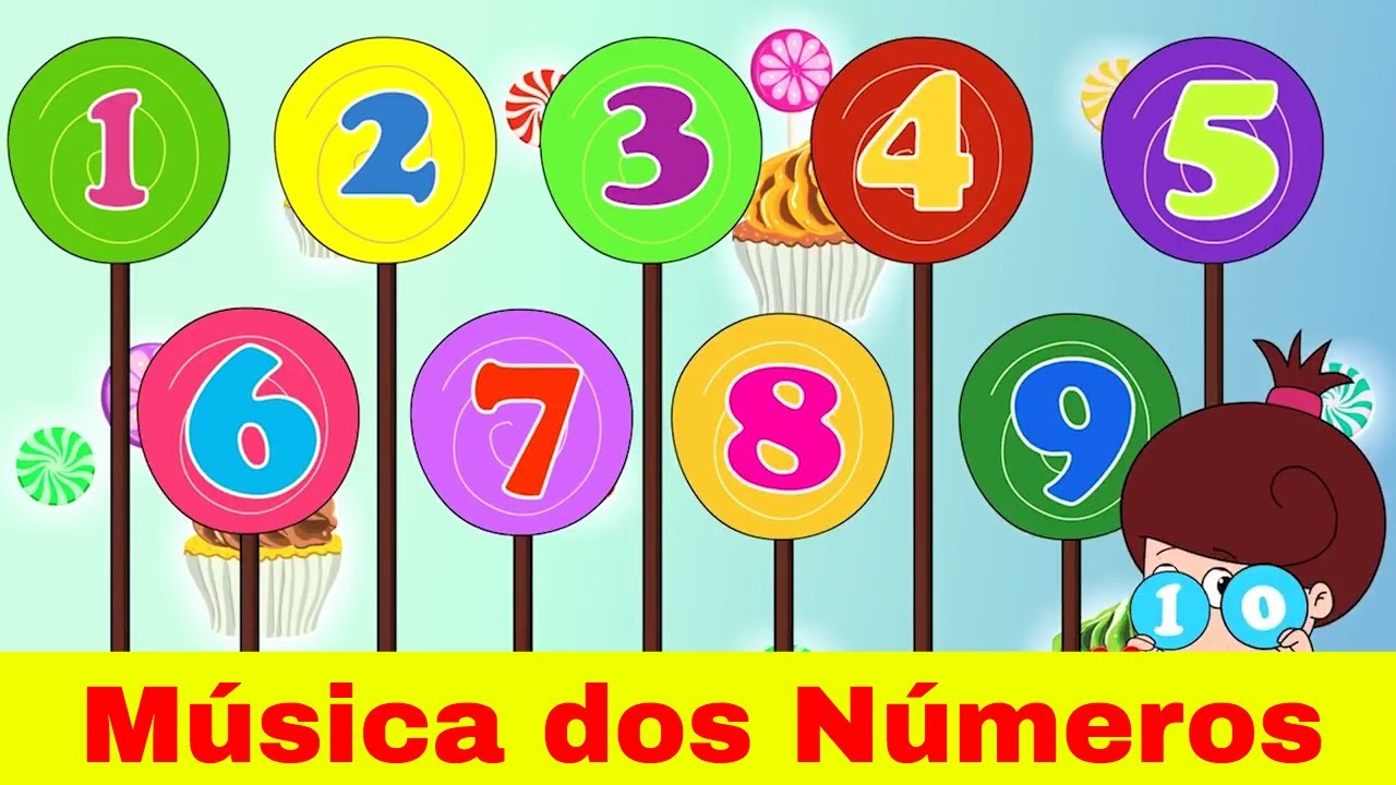 Os Números Em Ingles Aprenda Com Musica Os Números Em Ingles Aprenda Com Musica Inglês Para Bebes Youtube