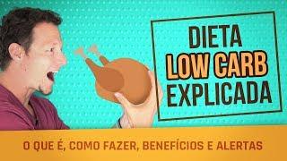 Dieta LOW CARB - O que é, Como Fazer, Benefícios e Alertas