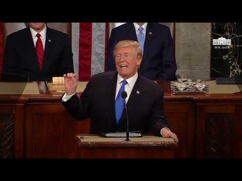 2018 State of the Union NO CLAPPING