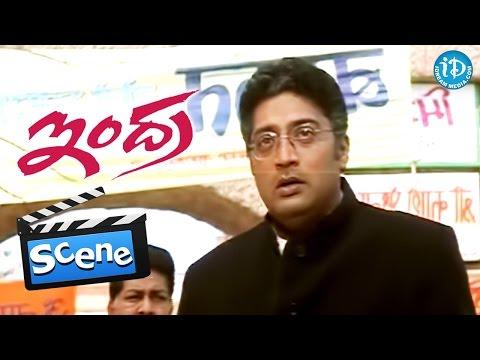 Indra Movie Scenes - Prakash Raj...