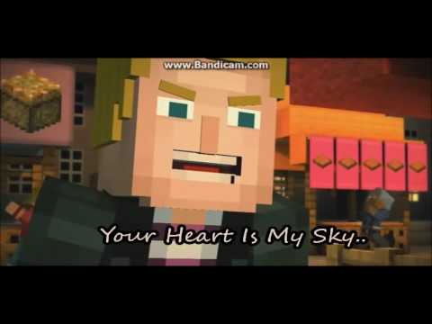 Lukas X Jesse Everytime We Touch Minecraft Story Mode Youtube