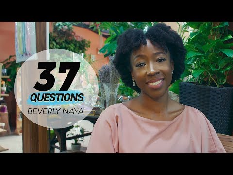 37 Questions with Actress Beverly Naya