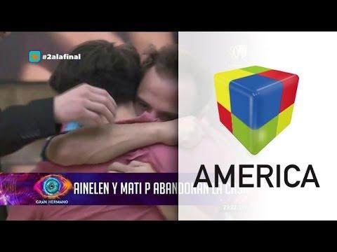 Matías Portillo y Ainelén son los nuevos eliminados de Gran Hermano