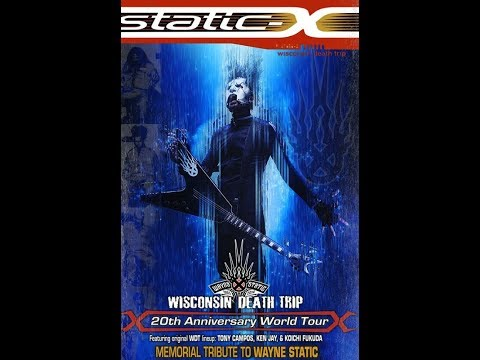 Static-X add Wednesday 13 and Raven Black on initial leg of tribute tour..!