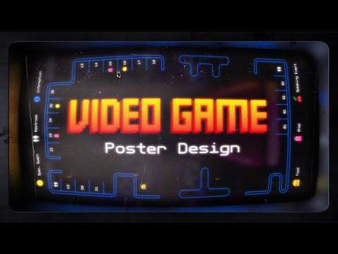 Video Game Poster Design Process