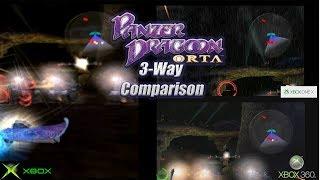Panzer Dragoon ORTA 4k Xbox One X vs 360 vs XBOX OG