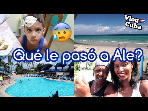 VIAJE A CUBA!! EL ACCIDENTE DE ALE EN CUBA + PISCINA Y PLAYA EN CUBA HOTEL ATLÁNTICO | 17 Oct 2017