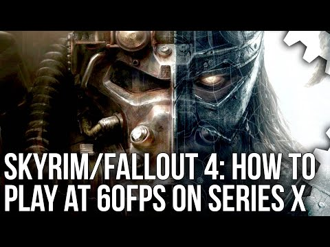 Skyrim + Fallout 4 60FPS Mods For Xbox Series X/ Series S Tested!