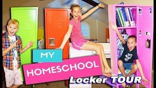 What's In My Homeschool Locker? Back To School Locker TOUR!