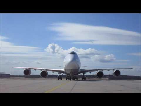 Frankfurt 747-8 Parking