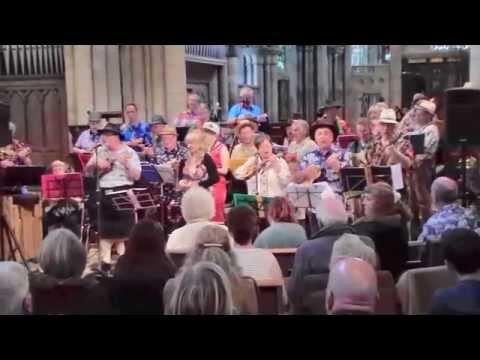 Hartlepool Ukulele Group@Headland Festival 2014