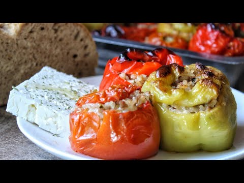 Τα πιο ΕΥΚΟΛΑ Γεμιστά – Greek Stuffed Vegetables – Gemista