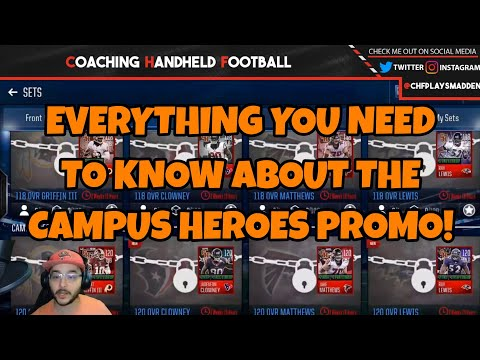 GUIDE TO GET 2 FREE 120 OVERALL PLAYERS - Complete Campus Heroes Promo Breakdown!