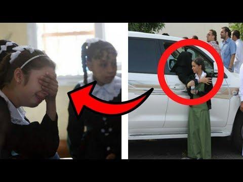 Kız Çocuğu Okuldan Çıktığında Ağlıyordu. Dünyayı Ağlatan Olaya Şahit Olunca Sen De Ağlayacaksın !!