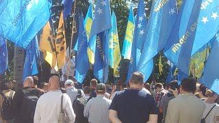 Протесты под Верховной Радой. Protsenko стрим