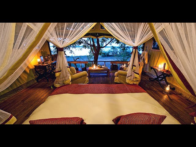 Glamping in South Africa at Chiawa Camp