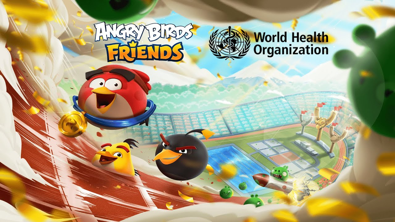 Angry Birds Friends X WHO | Stay Active Tournament