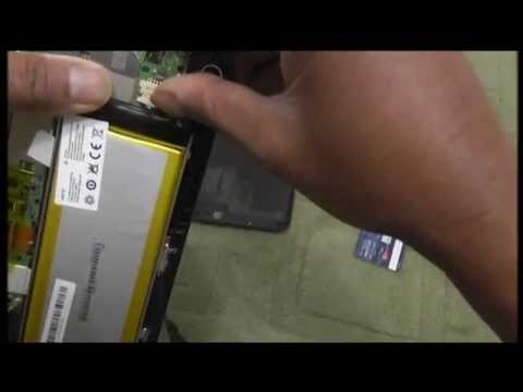 How to replace the battery in Hisense Sero Pro tablet
