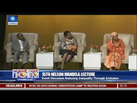 15th Mandela Lecture Discusses Reducing Inequality Through Inlusion