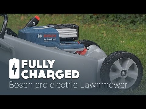 Bosch pro electric Lawnmower | Fully Charged