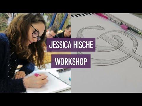 Lettering workshop with Jessica Hische | CharliMarieTV