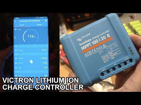 SOLAR POWERED SHED | PART 2 TESTING THE VICTRON SMART SOLAR MPPT 100 30 CONTROLLER