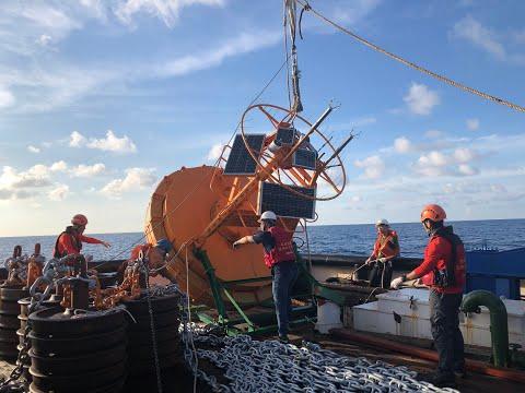 國家海洋研究院南沙太平島浮標布放