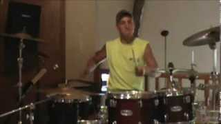 boys round here blake shelton drum cover raw pa system audio