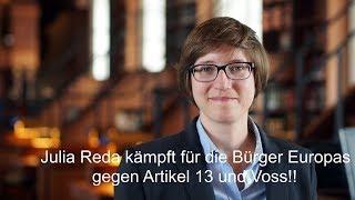 Live Debatte 19.02.2019 - Artikel 13 mit: Julia Reda, Timo Woelken, Max Andersson...