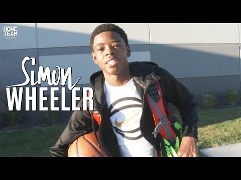 5'7 Simon Wheeler Is NICE With The Rock!! Crazy Handles (Class of 2021)