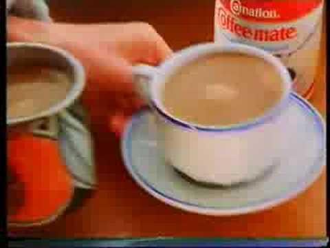 Coffee Mate Tv Commercial Uk Circa 85 Milkfloat
