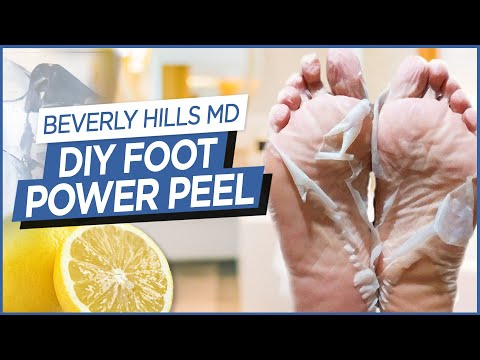 """How To Make DIY Foot """"Power Peel"""" (Easy to make!) 