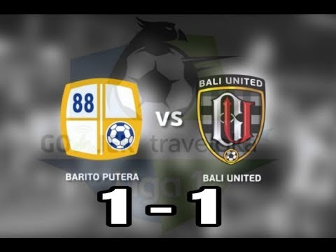 Barito Putera Vs Bali United   All Goals Highlights Full Time