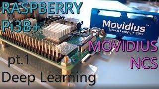 Deep Learning with Movidius NCS and Raspberry Pi3B+ (pt.1) VM and NCSDK setup