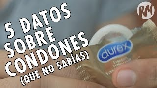 5 DATOS QUE NO SABÍAS SOBRE LOS CONDONES thumbnail
